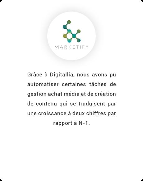 Avis client Marketify